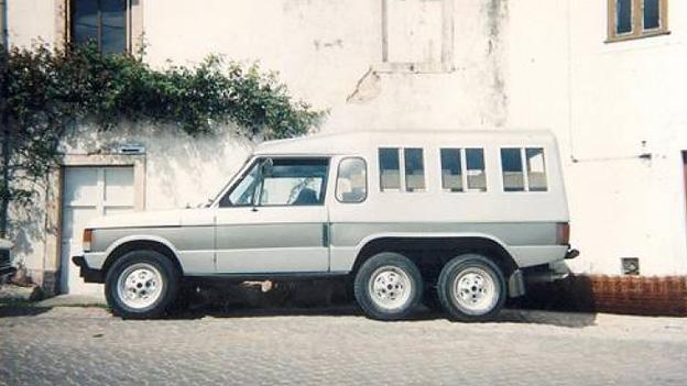 Land Rover Range Rover Discovery Minibar Dreiachser