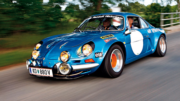 Alpine A110 Chronik