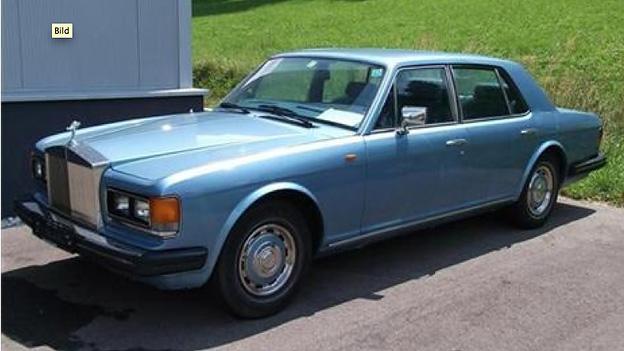 Rolls Royce Silver Spirit Gebrauchtwagen Oldtimer Youngtimer
