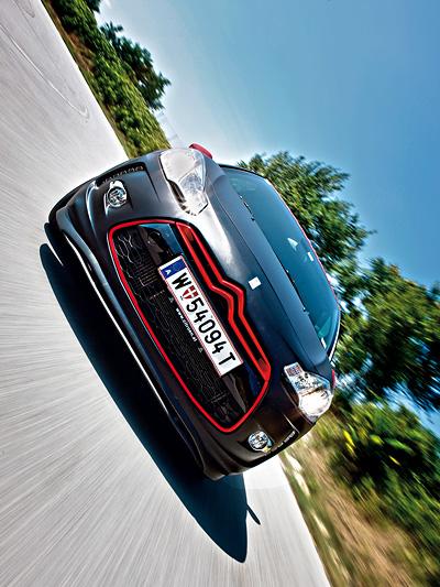 Citroen DS3 Racing by Loeb Motorsport im Alltag