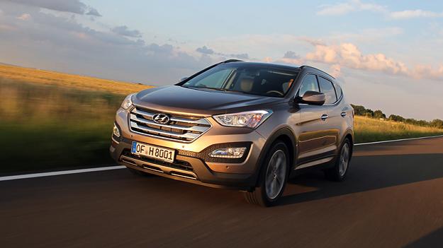 Hyundai Santa Fe Test
