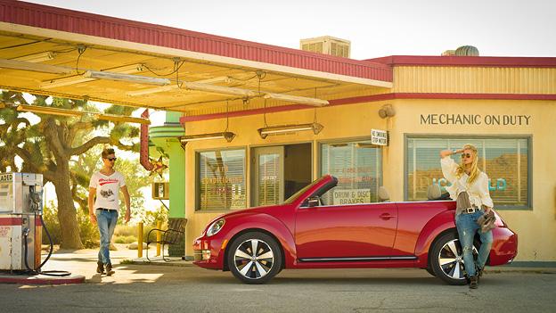 VW Beetle Cabriolet Los Angeles Autoshow