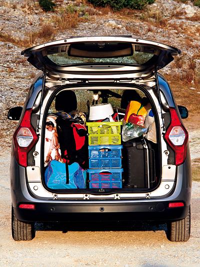 Dacia Lodgy Lauréate dCi 110 Fahrbericht Test