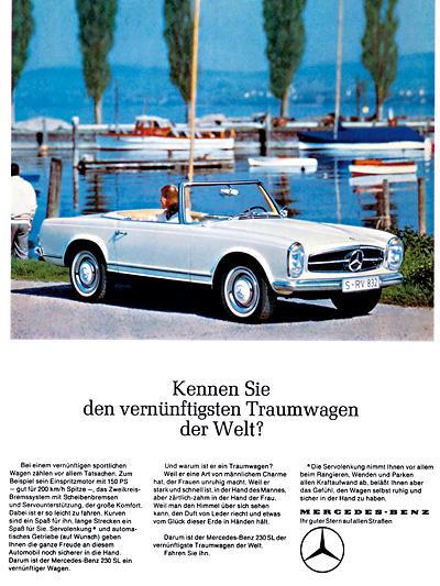 Mercedes-Benz Oldtimer Roadster 190 SL 230 SL Baureihe 107