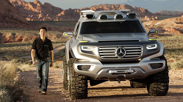 Merceds Benz G-Klasse Ener-G-Force Energforce Wasserstoff Offroad SUV