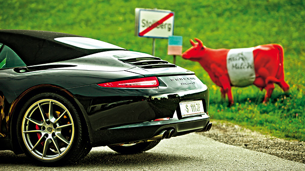 Porsche 911 Carrera S Cabrio Supertest Autorevue Test Fahrbericht Supersportler