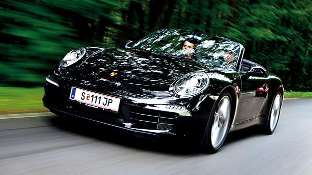 Karl Wendlinger im Porsche 911 S Cabrio PDK Slovakiaring