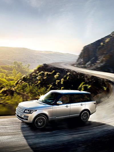 Land Rover Range Rover Offroad SUV Leichtbau
