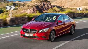 Mercedes Mercedes-Benz CLA dynamisch vorne links
