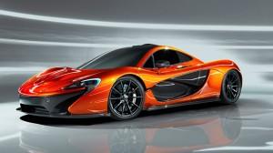 McLaren P1 Dezember 2013