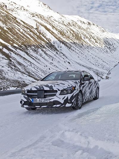Merceds-BEnz Allrad 4MAtic CLA G GL GLK Winter Schnee Driften