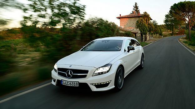 Mercedes BEnz CLS Shooting Brake AMG