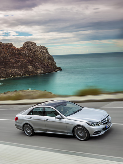 Neue Mercedes E-Klasse Facelift S-Klasse Technologie Investition eine Milliarde Euro