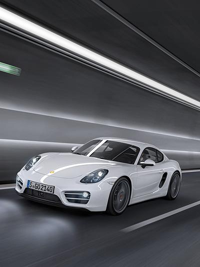Porsche Cayman Los Angeles Autoshow LA S