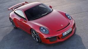 Porsche 911 GT3 statisch vorne rechts