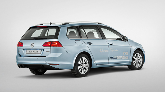 VW Golf Variant TDI Bluemotion statisch hinten rechts