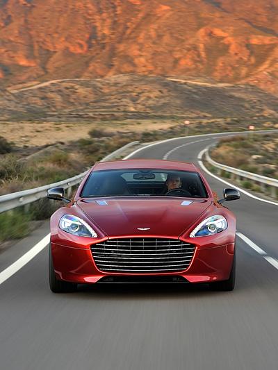 Aston Martin Rapide S hundert Jahre Jubiläum