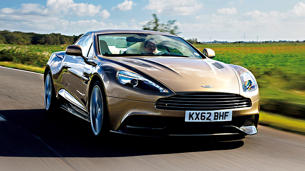 Aston Martin Vanquish Coupé Sportwagen