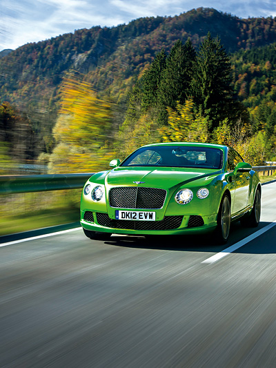 Bentley Continental GT Speed Coupe W12