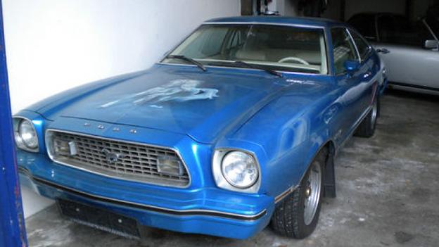 Ford Mustang 1973 Oldtimer Gebrauchtwagen Airbrush