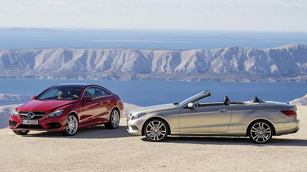 Mercedes Benz E-Klase E Klasse EKLasse neu neue 2013 Facelift Coupe Cabrio Cabriolet
