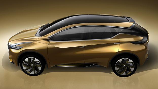 Nissan resonance Detroit NAIAS Motorshow Concept Murano SUV