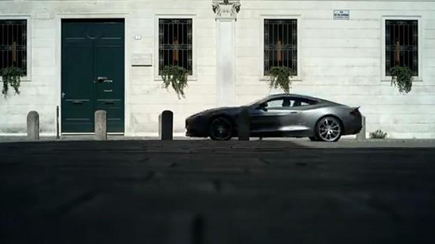 Aston Martin Vanquish Video