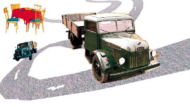 Berufsheer Wehrpflicht Steyr lkw 380 Autoliebe Essay Liebe zum Auto Provinz Stadt Land