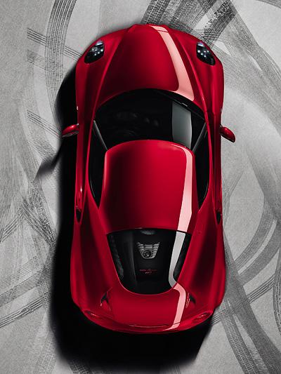 Alfa Romeo 4c Autosalon Genf erste Bilder echte Fotos