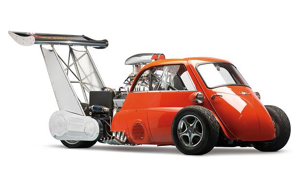 BMW ISetta Whatta Drag Microcar Museum Hotwheels
