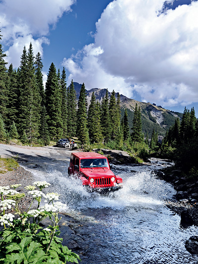 Jeep Camp Colorado Telluride Denver Durango Offroad Grand Cherokee 4x4 Gelände Million Dollar Highway