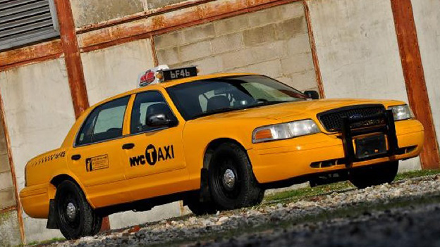 New York Yellow Cab Ford Crown Gebrauchtwagen