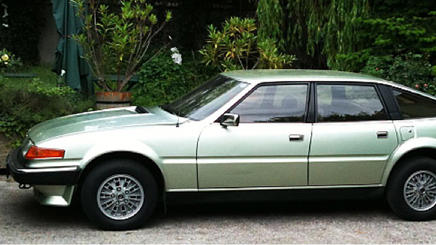 Rover SD1 Oldtimer Gebrauchtwagen Car of the year 1977