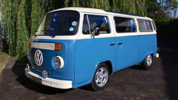 VW T2 Bulli Bus Volkswagen Oldtimer Gebrauchtwagen