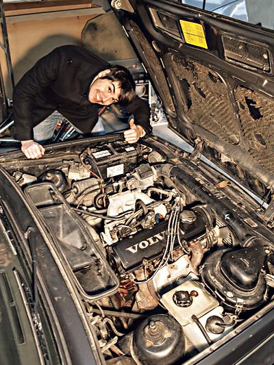 Volvo 360 GLT Istanbul Wien Istanbul Istanbul500 Schrott rennt Oldtimer Rallye Gebrauchtwagen Max Schwinghammer Christian Seidel
