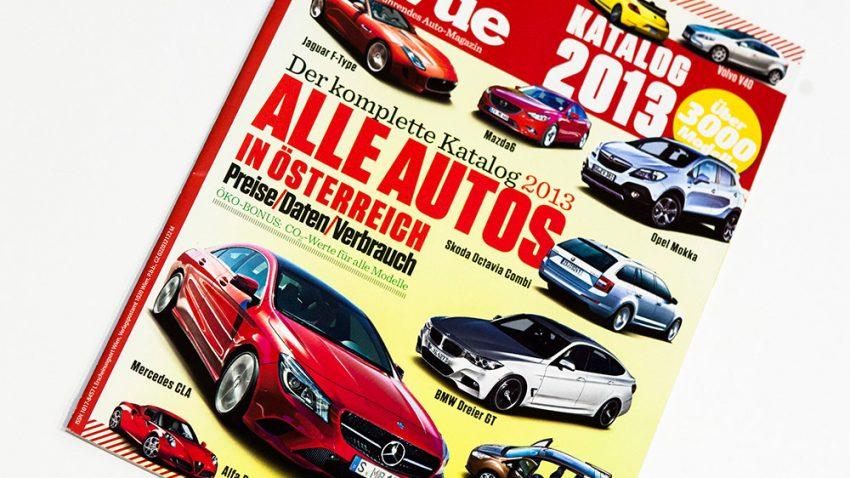 Autorevue Katalog 2013 - alle Autos, die 2013 in Österreich erhältlich waren