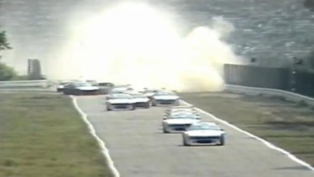 Regazzonie Stuck Lauda Hockenheim 1979 BMW M1 Procar serie