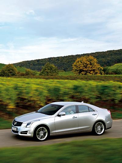 Cadillac ATS Testbericht Limousine USA Heckantrieb Allradantrieb