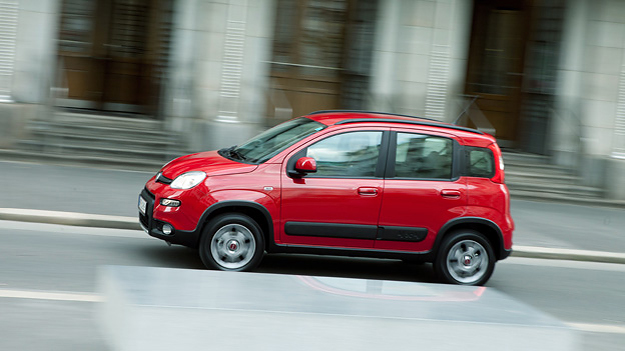 Fiat Panda 4x4 Allrad Kleinwagen Italien Offroad Mimikri