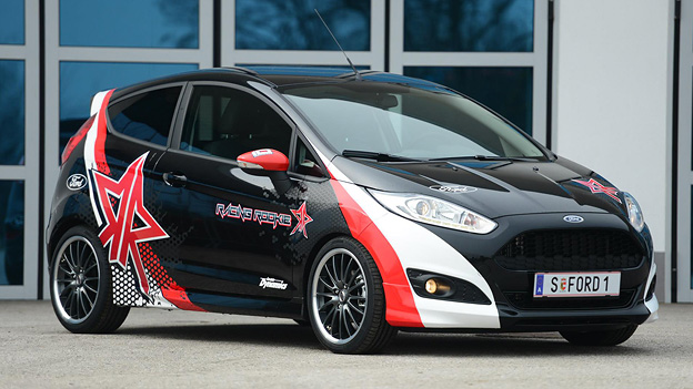 Ford Fiesta Racing Rookie Edition limitiert 50 Stück Ken Block