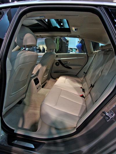 BMW 3er GT Interieur