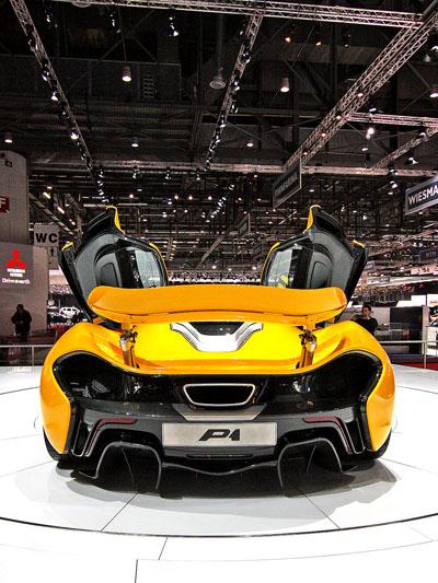 McLaren P1 stat hinten