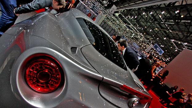 Alfa Romeo 4C Detail