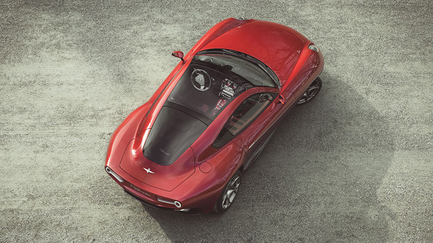 Superleggera Touring Disco Volante Italien Alfa Romeo 8C Coupe Supersportwagen Sportwagen Supercar