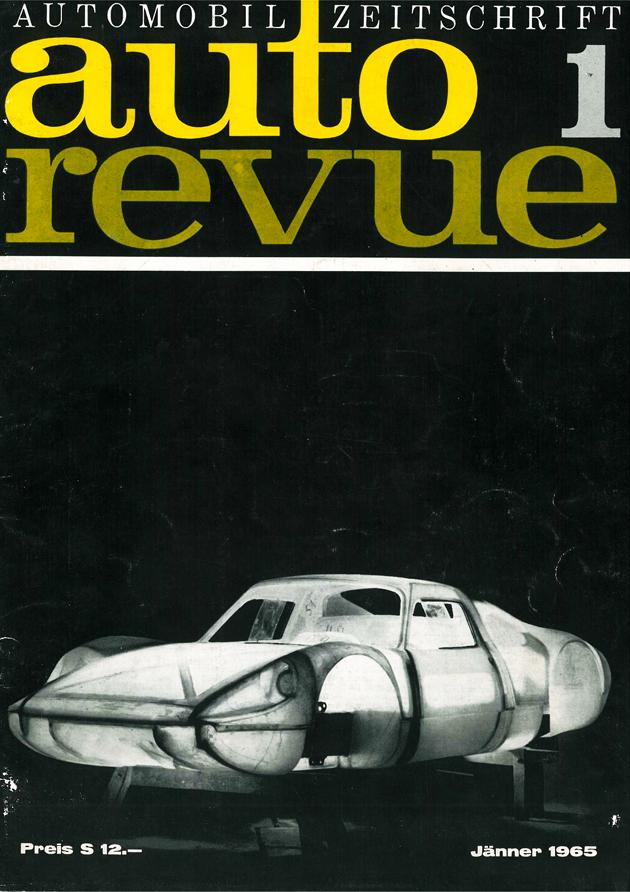 Autorevue Erstausgabe - Cover der Ausgabe 1965 01