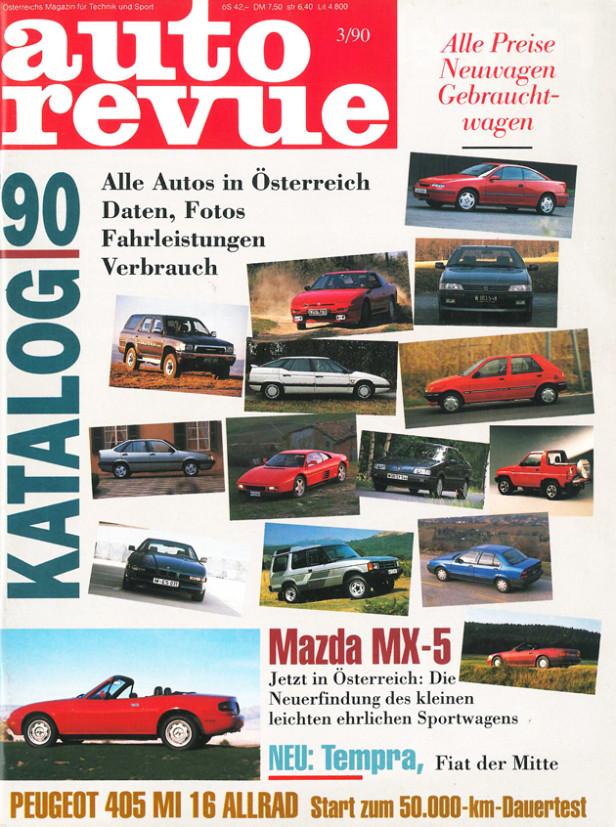Autorevue Magazin-Archiv: Ausgabe 03/1990