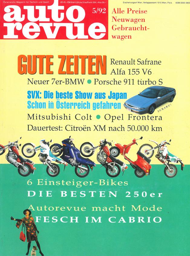 Autorevue Magazin-Archiv: Ausgabe 05/1992