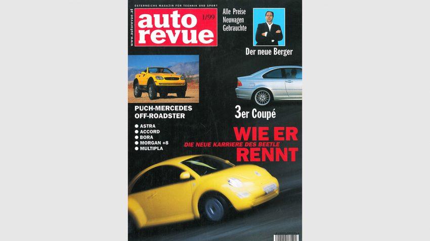 Autorevue Magazin-Archiv: Ausgabe 01/1999