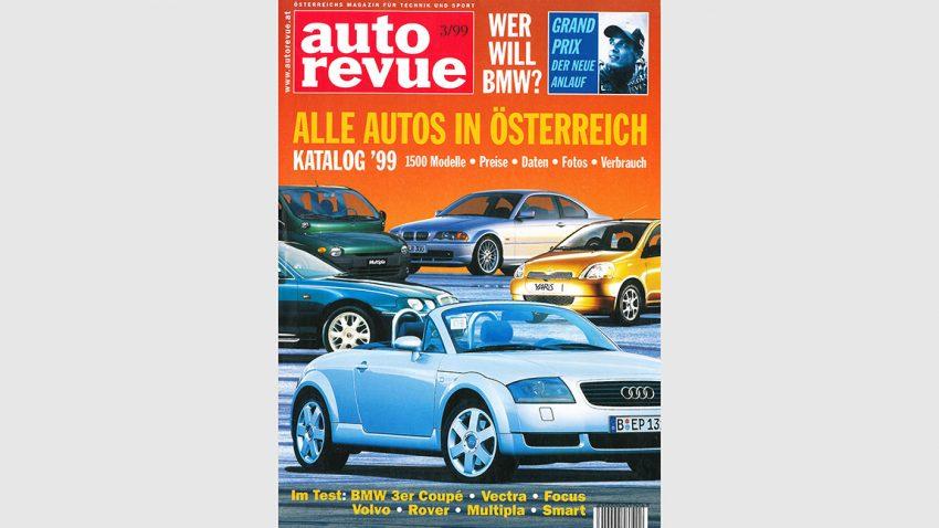 Autorevue Magazin-Archiv: Ausgabe 03/1999
