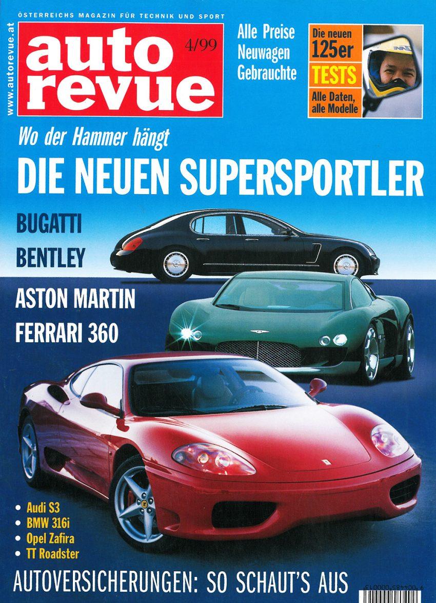 Autorevue Magazin-Archiv: Ausgabe 04/1999